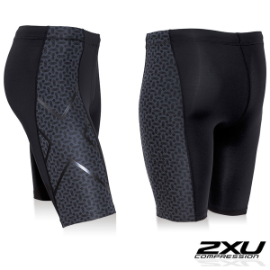 Pantalone short compression 2xu UOMO
