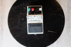 USATO! PEDALE BOSS LINE SELECTOR LS-2