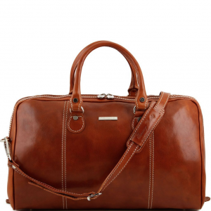 Tuscany Leather TL1045 Paris - Sac de voyage en cuir Miel