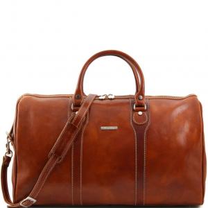 Tuscany Leather TL1044 Oslo - Sac de voyage en cuir Miel