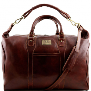 Tuscany Leather TL1049 Amsterdam - Sac de voyage en cuir Marron