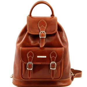 Tuscany Leather TL9039 Singapore - Leather - Backpack Honey
