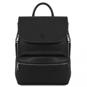 Tuscany Leather TL141729 Margherita - Leather backpack Black
