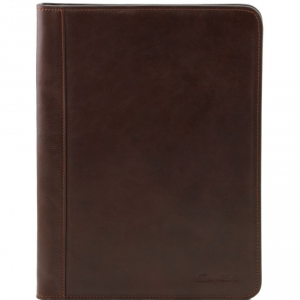 Tuscany Leather TL141294 Ottavio - Porte-document en cuir Marron foncé