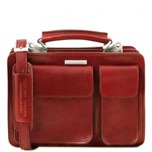 Tuscany Leather TL141270 Tania - Sac à main en cuir Rouge