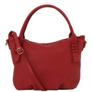 Tuscany Leather TL141705 TL Bag -  Sac à main en cuir souple Rouge