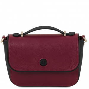 Tuscany Leather TL141725 Primula - Sac à main en cuir Bordeaux