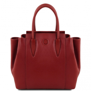 Tuscany Leather TL141727 Tulipan - Sac à main en cuir Rouge