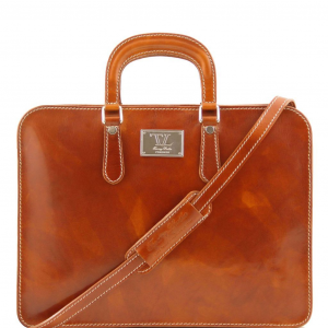 Tuscany Leather TL140961 Alba - Women's Leather briefcase 1 compartment Honey