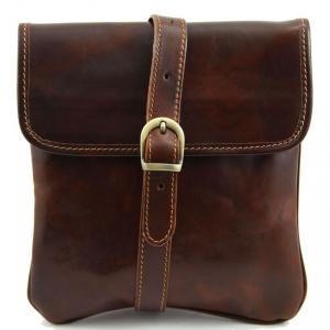 Tuscany Leather TL140987 Joe - Borsello in pelle a tracolla Marrone