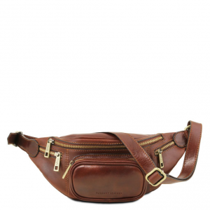 Tuscany Leather TL141305 Marsupio in pelle Marrone