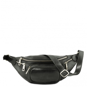 Tuscany Leather TL141305 Marsupio in pelle Nero