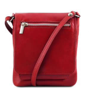 Tuscany Leather TL141510 Sasha - Sac mixte en cuir souple Rouge
