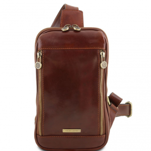 Tuscany Leather TL141536 Martin - Sac bandoulière en cuir Marron