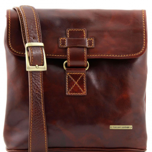 Tuscany Leather TL9087 Andrea - Sac bandoulière en cuir Marron