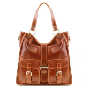 Tuscany Leather TL140928 Melissa - Lady leather bag Honey