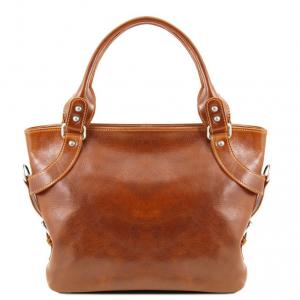Tuscany Leather TL140899 Ilenia - Sac à épaule Miel
