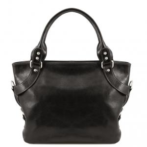 Tuscany Leather TL140899 Ilenia - Sac à épaule Noir