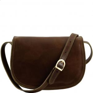 Tuscany Leather TL9031 Isabella - Sac bandoulière en cuir Marron foncé