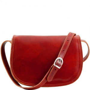 Tuscany Leather TL9031 Isabella - Borsa in pelle da donna Rosso