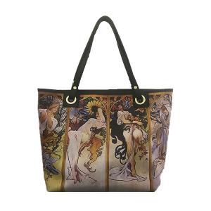 Merinda shopper bag Art line woman