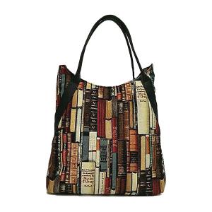 Merinda Art line fabric shoulder bag