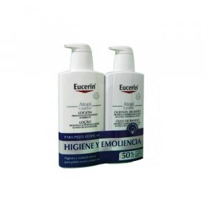 Eucerin Atopicontrol Oleogel Bagno 400ml Set 2 Parti