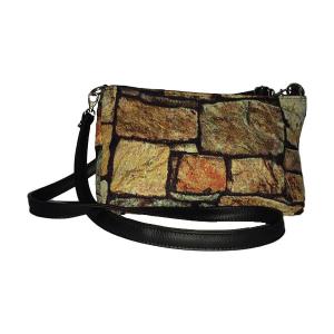 Merinda Trendy fabric shoulder bag with strap