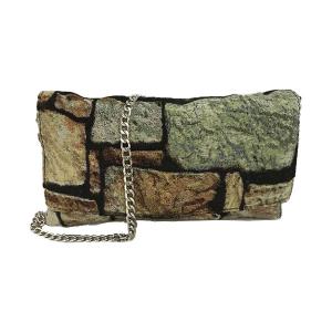 Merinda Trendy fabric clutch bag