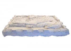 Marble Panel Hand Carved Lion Of Saint Mark Italian Craftsmanship