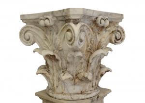 Corinthian Marble Crafts Classic Italian Style Carrara White