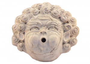 Grotesque Mask Eolo Wall Italian Marble Fountain Crafts