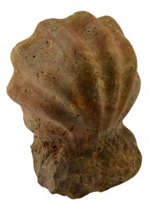 Marble Stoup Glove Centerpiece Italian Handicrafts