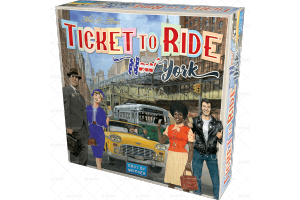 ASMODEE 8513 TICKET TO RIDE NEW YORK