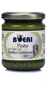 Pesto alla Genovese con basilico Genovese DOP senza aglio 212 ml