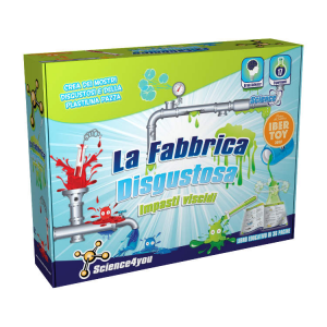 Fabbrica Disgustosa dello Slimy impasti viscidi Science4you