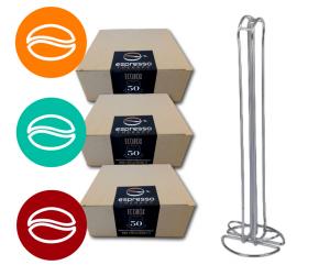 100 capsule compatibili nespresso miscela a scelta, omaggio portacapsule 20 posti offerta riservata