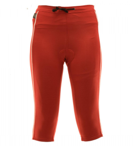 BRIKO Capri 3/4 Trousers Cycling/Spinning For Woman Ovation B-Concept Red