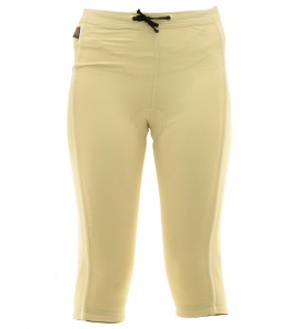 BRIKO Capri 3/4 Trousers Cycling/Spinning For Woman Ovation B-Concept Beige