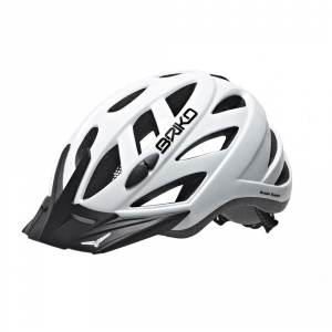 BRIKO Helmet For Cycling Unisex In-Moulding Technology City White