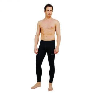 BRIKO Long Pants Breathable Winter Black Man Corewarm