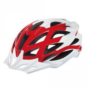 BRIKO Helmet Cycling Mountain Biking Mountainstar Unisex White Red