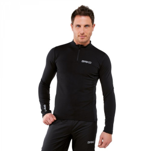 BRIKO Sports Jersey Long-Sleeved Black Man Multisport Lite Jersey