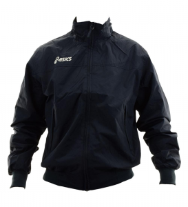 ASICS Unisex Lightweight Bomber Full Zip Perforated Lining Sailor Navy Blue