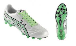 ASICS Shoes Men'S Soccer Tecnosoccer Warrior Cs Fluorescent Green White
