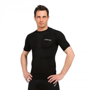BRIKO T-Shirt Unisex Sports Underwear Muscle Compression Black