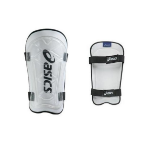 ASICS Pack Of 10 Pairs Shin Guards For Football Basic Guard White Black