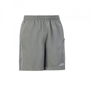 ASICS Junior Tennis Shorts Gustavo Gray White