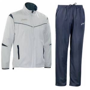 ASICS Outerwear Junior/Child: Jacket + Pants Rafael Blue