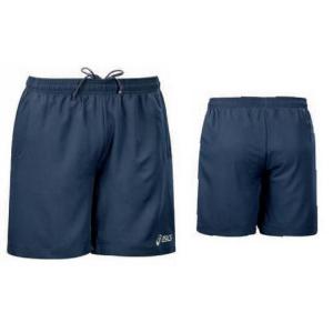 ASICS Junior Tennis Shorts Two Front Pockets Novak Navy Blue
